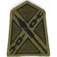 Machine embroidery badges Virginia National Guard State Headquarters Subdued Embroidered US shoulder sleeve