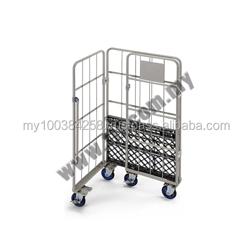 Prestar Work Tainer, Ladder Trolley, Picker Cart, Picking Trolley, Platform Order Picker, Trolley, Hand Truck, Plastic Trolley