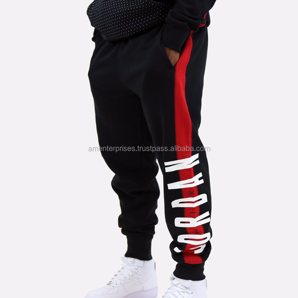 2017 New Fashion Design Custom color jordan style sweat pants
