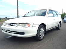 USED JAPANESE VEHICLES FOR TOYOTA COROLLA WAGON GF-AE100G 1999 AT (HIGH QUALITY)