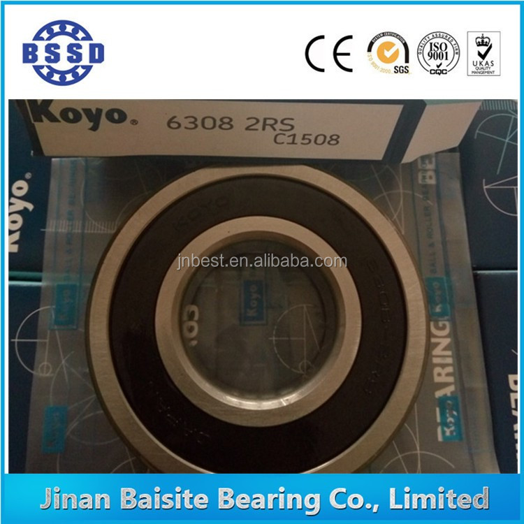 KOYO Bearings Original Japan Deep Groove Ball Bearings 6308 2RS