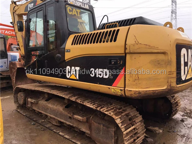 used caterpillar cat 315d excavator, used cat 315 312 excavator for sale in Malaysia