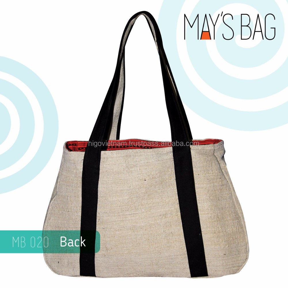 Best suppier fashion stylish new product foldable jute shopping bag
