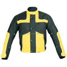 Yellow Black-Motorcycle-Cordura jacket for men casual jacket