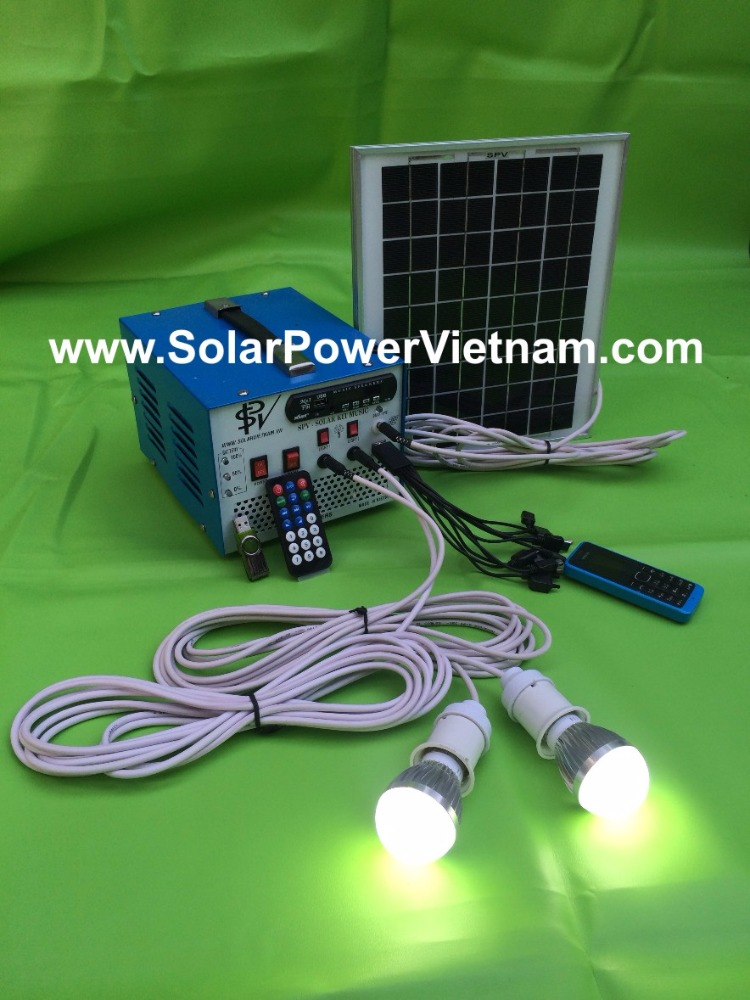 12watt solar radio am/fm radio solar energy lighting kit
