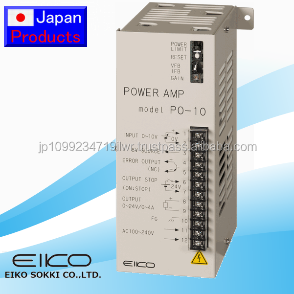 High-performance and High quality dc power supply power amplifier PO-10 with Japan quality made in Japan