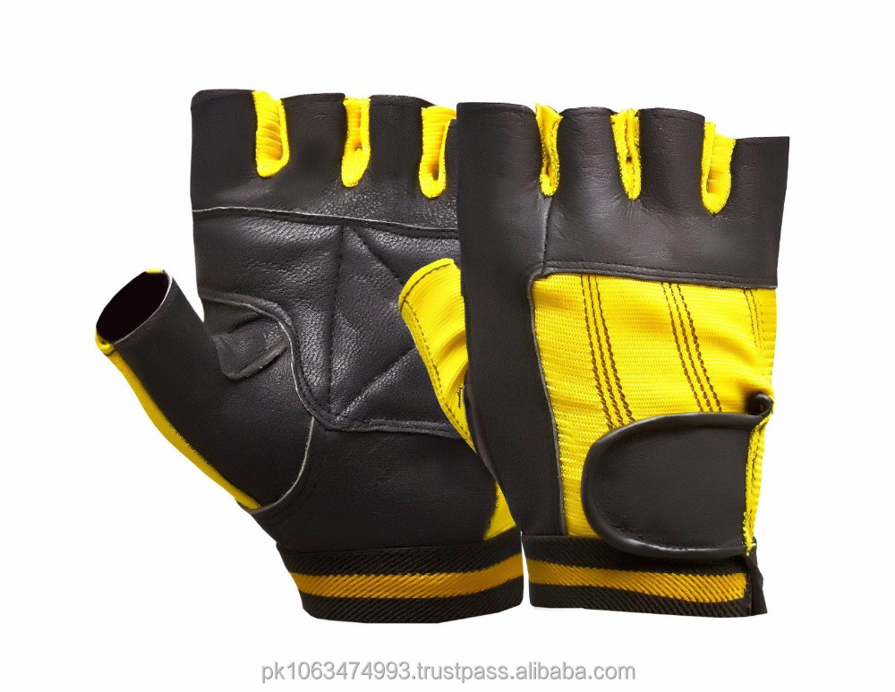Bus Driving Gloves Genuine Leather Motorbike Wheelchair Weight Lifting Cycling