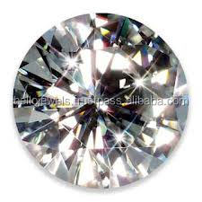 3 Ct Round Brilliant Cut Certified Moissanite Diamond Pune