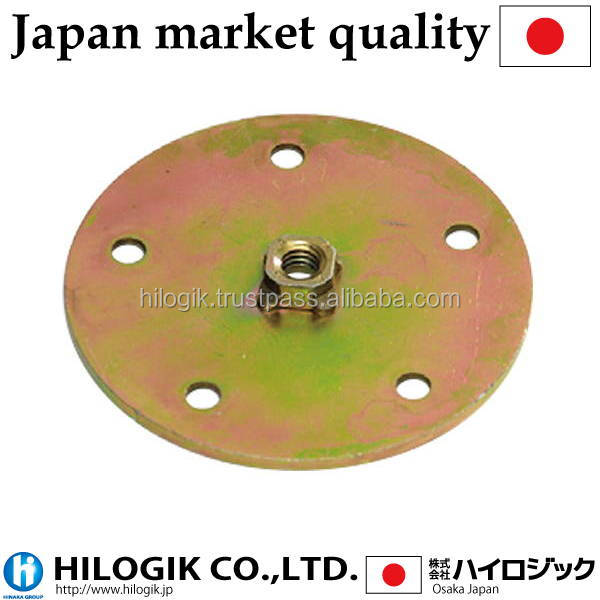 Traditional Wheel Caster plate 5/16 Path 80 3mm in thickness