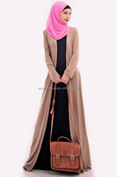 2 Pieces Basic Long Cardigan with Sleeveless Dress (Including Shawl)