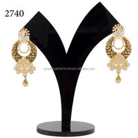 American Diamond CZ dangle Earring- Wholesale Indian imitation jewellery