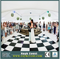 used Popular wooden dance floor for banquet