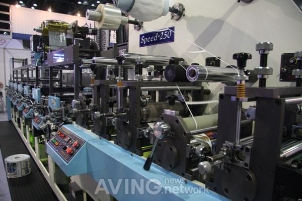SHINSEGAE FULL ROTARY LETTERPRESS LABEL PRINTING MACHINE