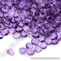 good quality natural amethyst faceted drops gemstones wholesale suppliers