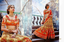 Designer party wear heavy pakistani anarkali style suits and lehenga for this wedding season