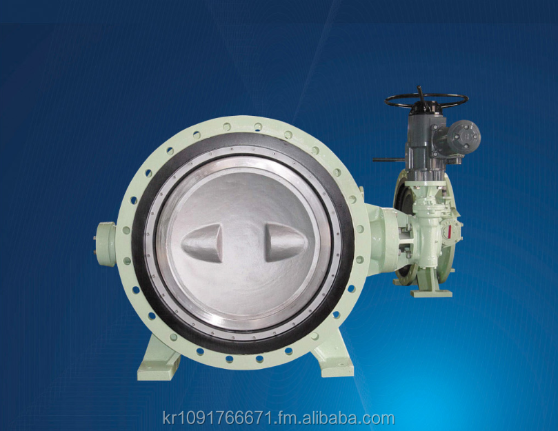 SDV500 Eccentric Type Butterfly Valve