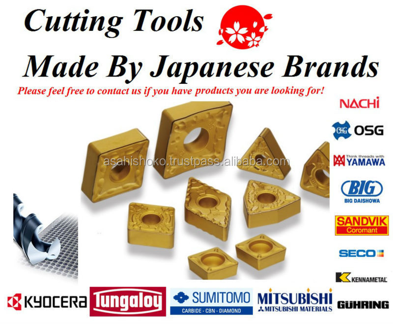 Carbide turning insert like Mitsubishi, Kyocera, Sumitomo, Tungaloy, OSG etc