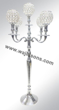 Wedding decorations candelabra manufacture by Wajidsons Corporation