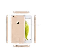 "2015 new Totu design factory price transparent touch soft TPU case with card insert function for iphone 6G 4.7""/6G PLUS 5.5"""