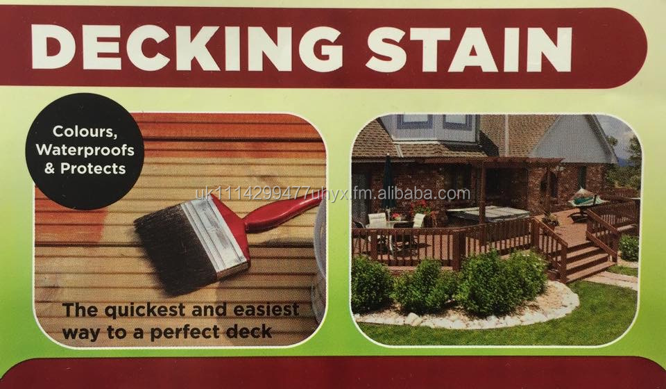Wood Stains and Decking Paints