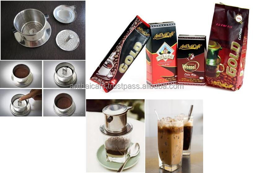 Ground Vietnamese coffee brands