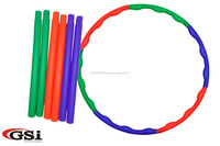 Collapsible Hula Hoop in 6 Parts