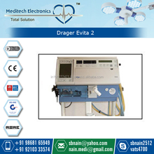 Advance Technology Durable Drager Evita 2 Ventilator Available for Clinical Use