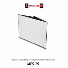 Portable folding projection screen for pico projector / Made in Korea