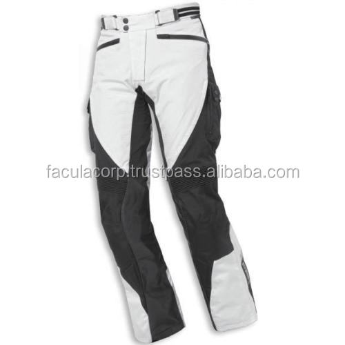 Grey Motorcycle Motorbike Adventure Textile Trousers FC-11980