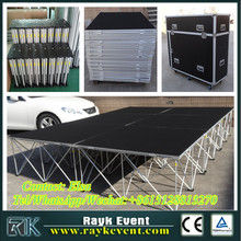Cheap stage setup removable stage used portable stage for sale