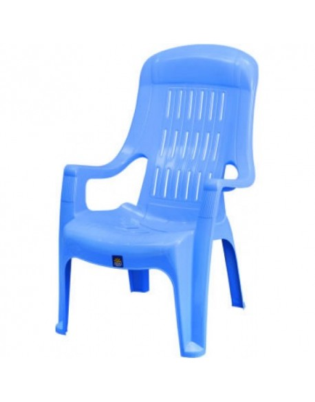 Plastic easy High Back Garden Chair
