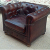 Chesterfield Vintage Style Sofa Industrial Genuine