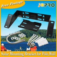 AU Stock Solar Panel Mounting Bracket For Pole Or Wall With Battery Box