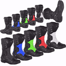 Motorcycle Waterproof Boots High Ankle Racing
