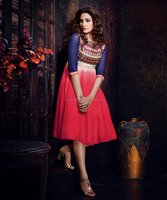 Color Combination For Kurtis | High Neck Designs Of Kurtis