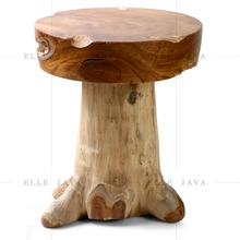 Teak Root Wooden Stool Home and Garden Furniture