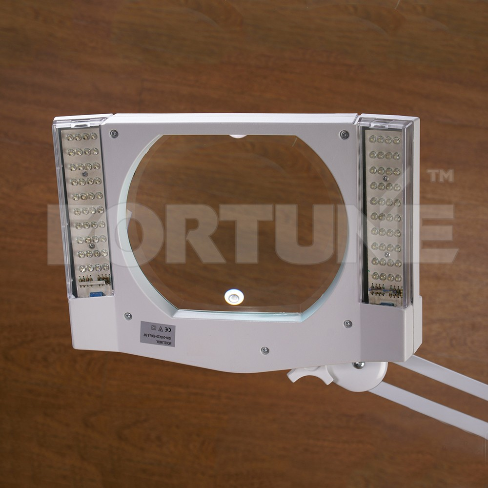 110V LED Magnifying Glass Lamp 3 Diopter with Stand used to Wood Craft Accessories