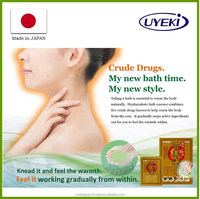 Japanese organic treatment bath time supply with natural ingredients