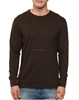 New fresh brand casual fit long sleeves cotton tee, cheap price tee