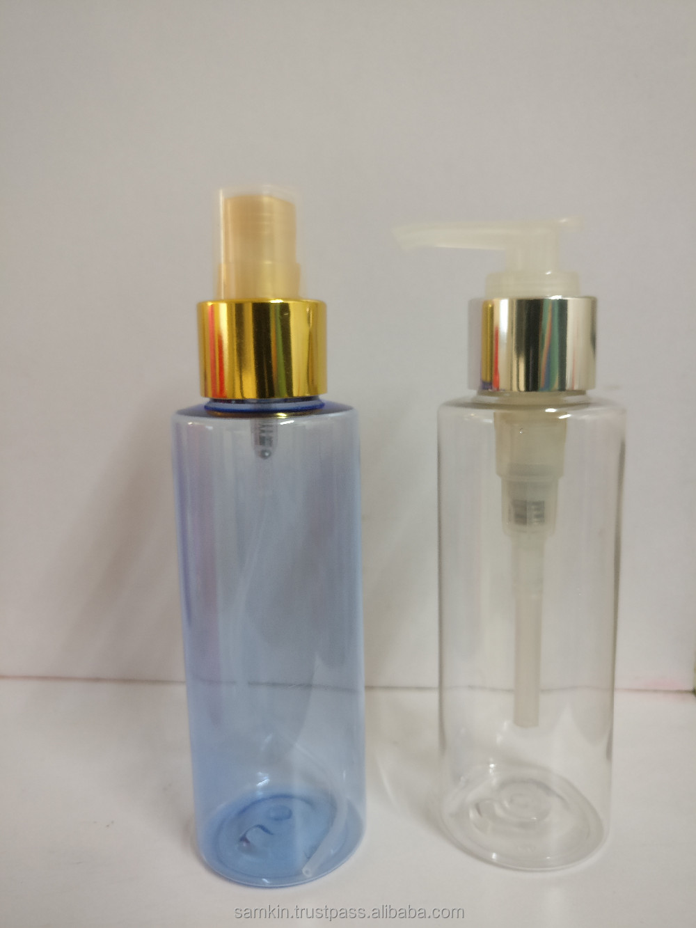 4 OZ SS FLAT ROUND SPRAY BOTTLES