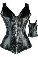 2016 WOMENS GOTHIC BLACK COLOR CORSET SEXY COSTUMES FC-3511