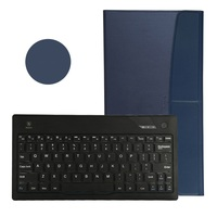 Bluetooth Keyboard Leather Cover for iPad air,Popular new bluetooth keyboard case for Samsung Tablet