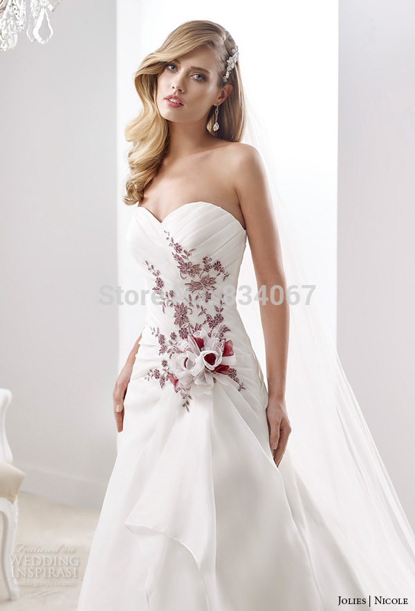 Limited Edition White/Floral Wedding Dress