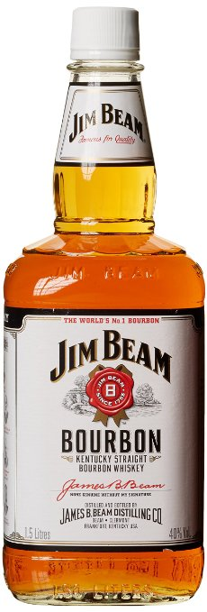 Jim Beam White Straight Bourbon Whisky 1000ml