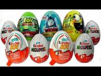 Ferrero Kinder Surprise / Kinder Joy / Kinder Buenos Chocolate