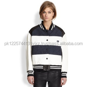 new style Ladies college jacket/baseball jacket for girls/boys/kids