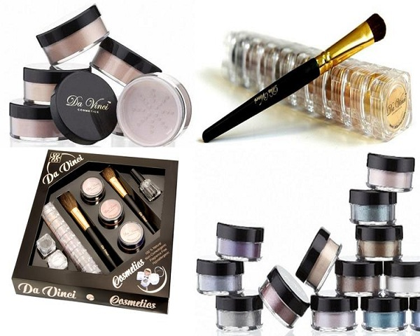 Da Vinci Cosmetics - NO CHEMICAL MAKEUP MADE IN THE USA