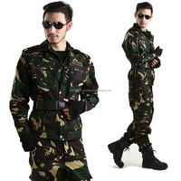 Dual Purpose Custom Military Army Jackets Combat Suits Camouflage Army Clothes