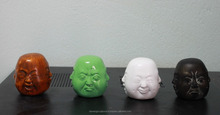 Resin four faces Happy Buddha statue DSF-HR36