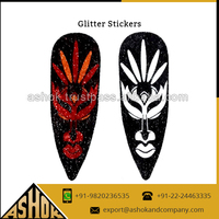 Premium Quality Attractive Design Glitter Stickers for Wall Decoration